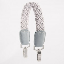 POLVERE SHORT PLAITED STRAP
