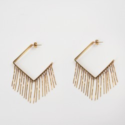 FRINGES EARRINGS