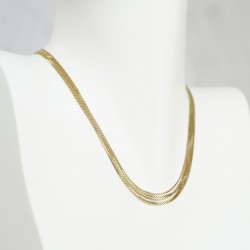 MULTIWIRE NECKLACE GOLD